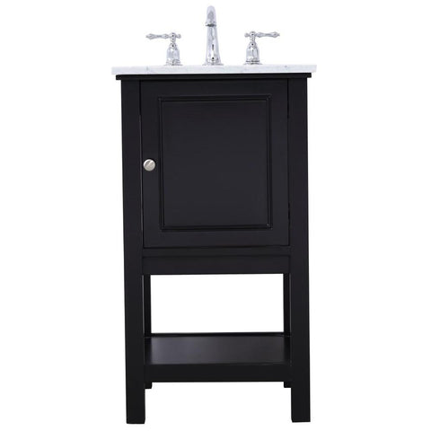 Metropolis 19-Inch Single Bathroom Vanity Set