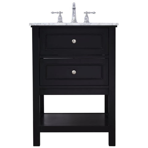 Metropolis 24-Inch Single Bathroom Vanity Set