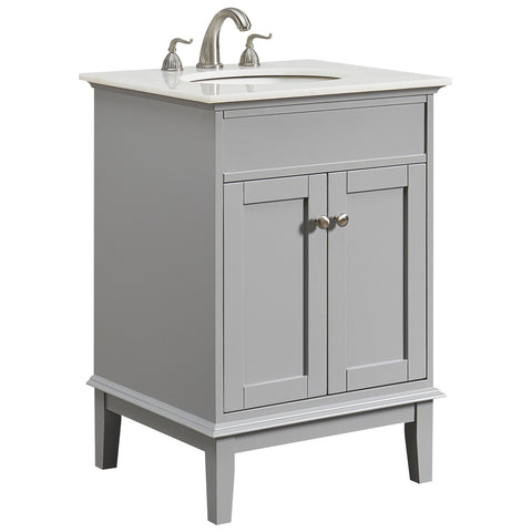 Sutton 24-Inch Single Bathroom Vanity Set