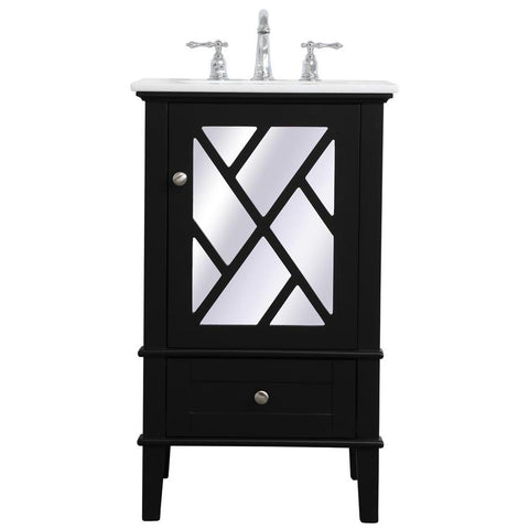 Luxe 21-Inch Single Bathroom Vanity Set