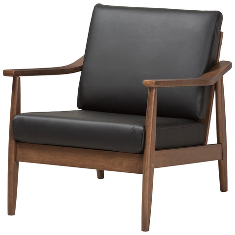 Baxton Studio Venza Lounge Chair