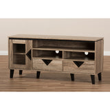 Cardiff 55-Inch TV Stand in Light Brown