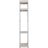 Gavin Metal 4-Shelf Closet Storage Racking Organizer