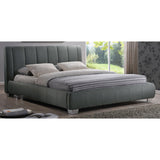 Baxton Studio Marzenia Wood Contemporary Queen-Size Bed