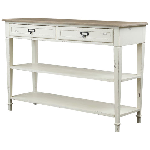 Baxton Studio Dauphine Traditional French Accent Console Table