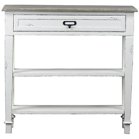 Baxton Studio Dauphine Traditional French 1 Drawer Accent Console Table