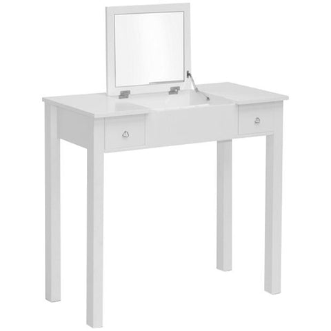 Baxton Studio Wessex White Vanity Table