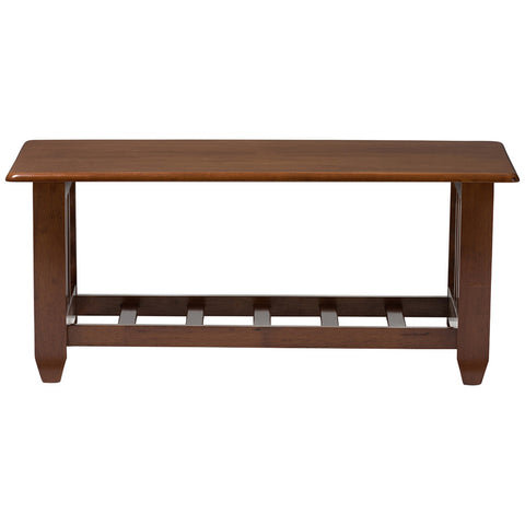 Baxton Studio Larissa Cherry Coffee Table