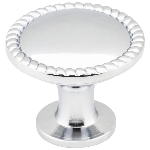 Lindos Cabinet Knob in Polished Chrome