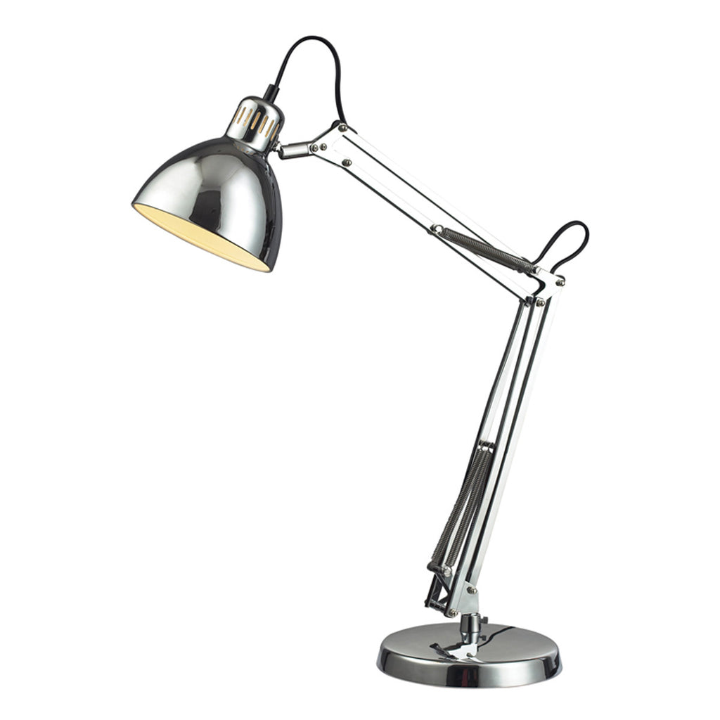 Ingelside 1-Light Desk Lamp in Chrome
