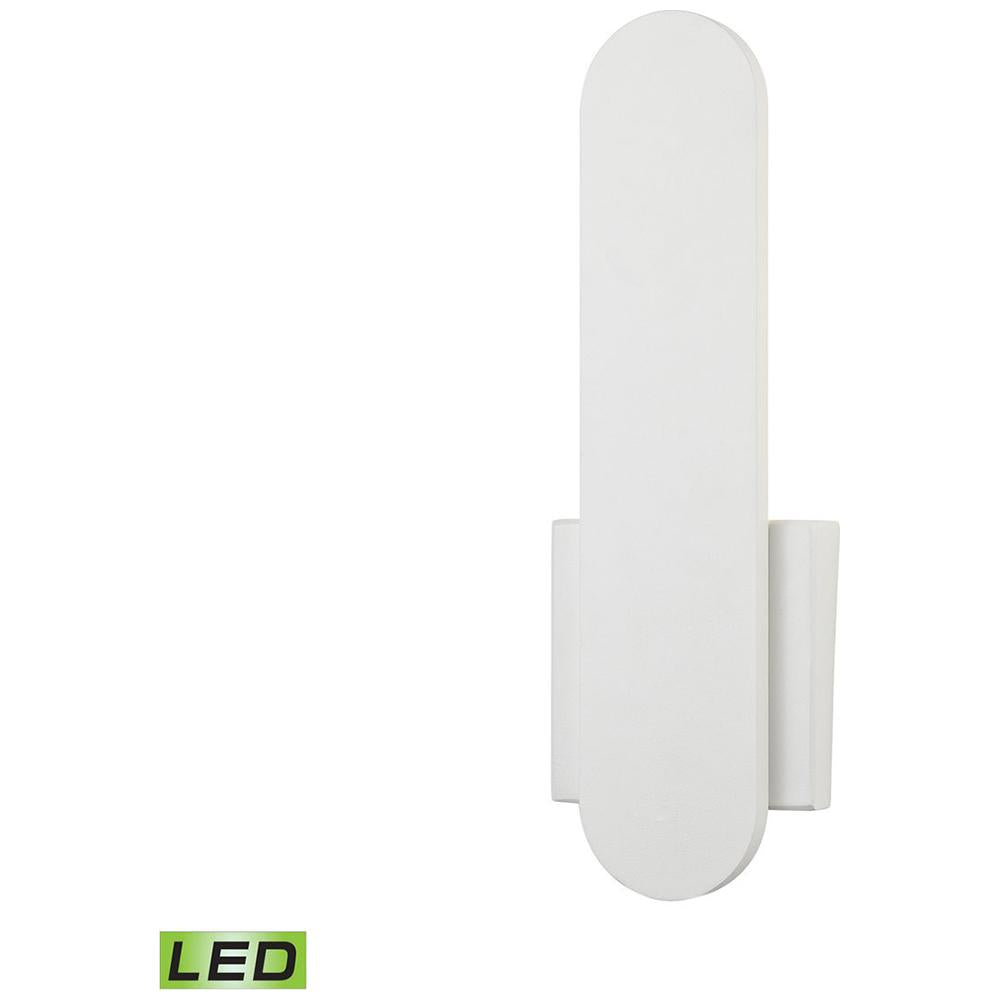 Feather Petite LED Wall Sconce in White