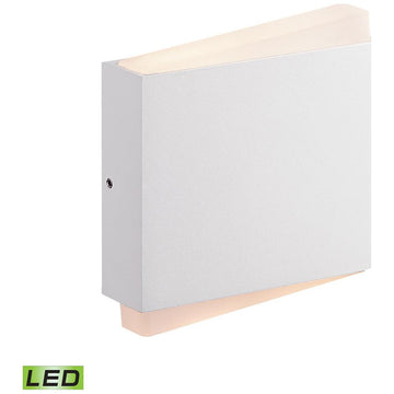 Fairmont LED Wall Sconce in Matte White