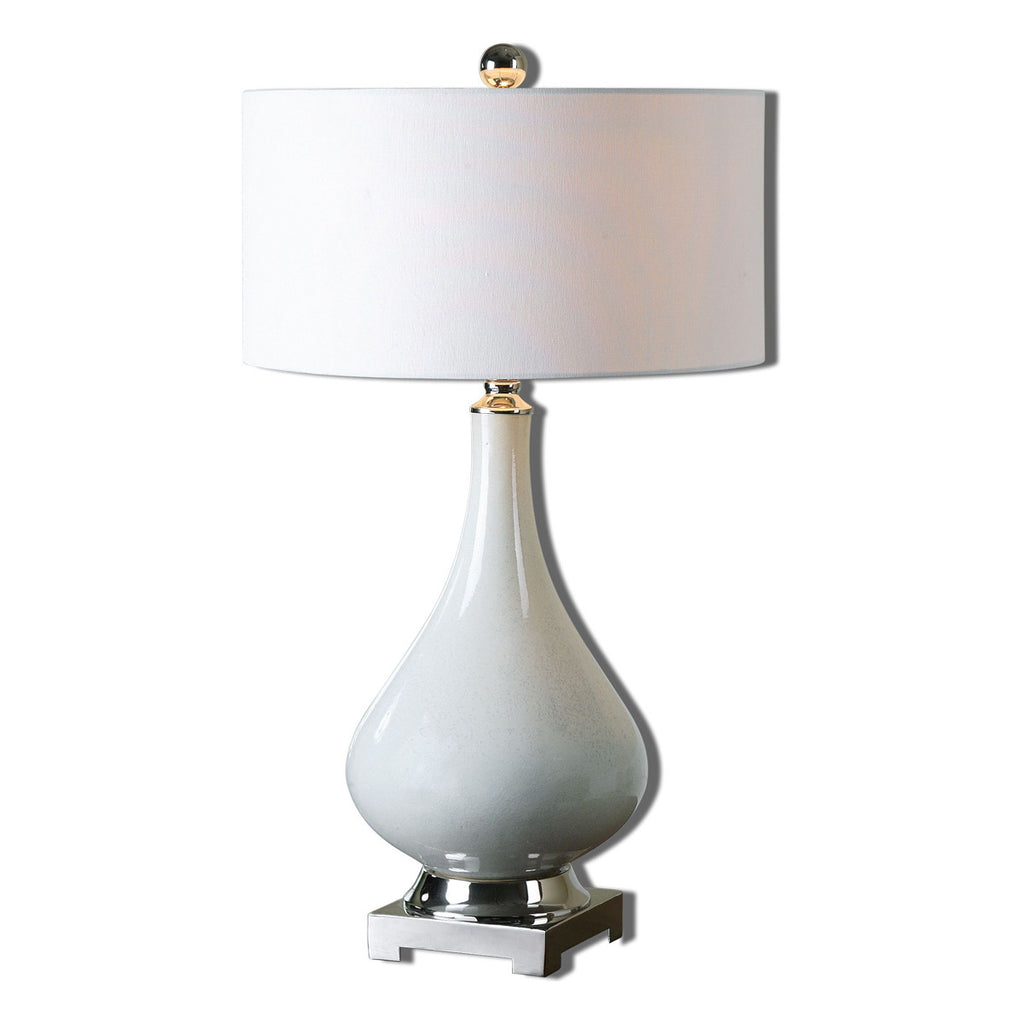 He Lighton White Table Lamp