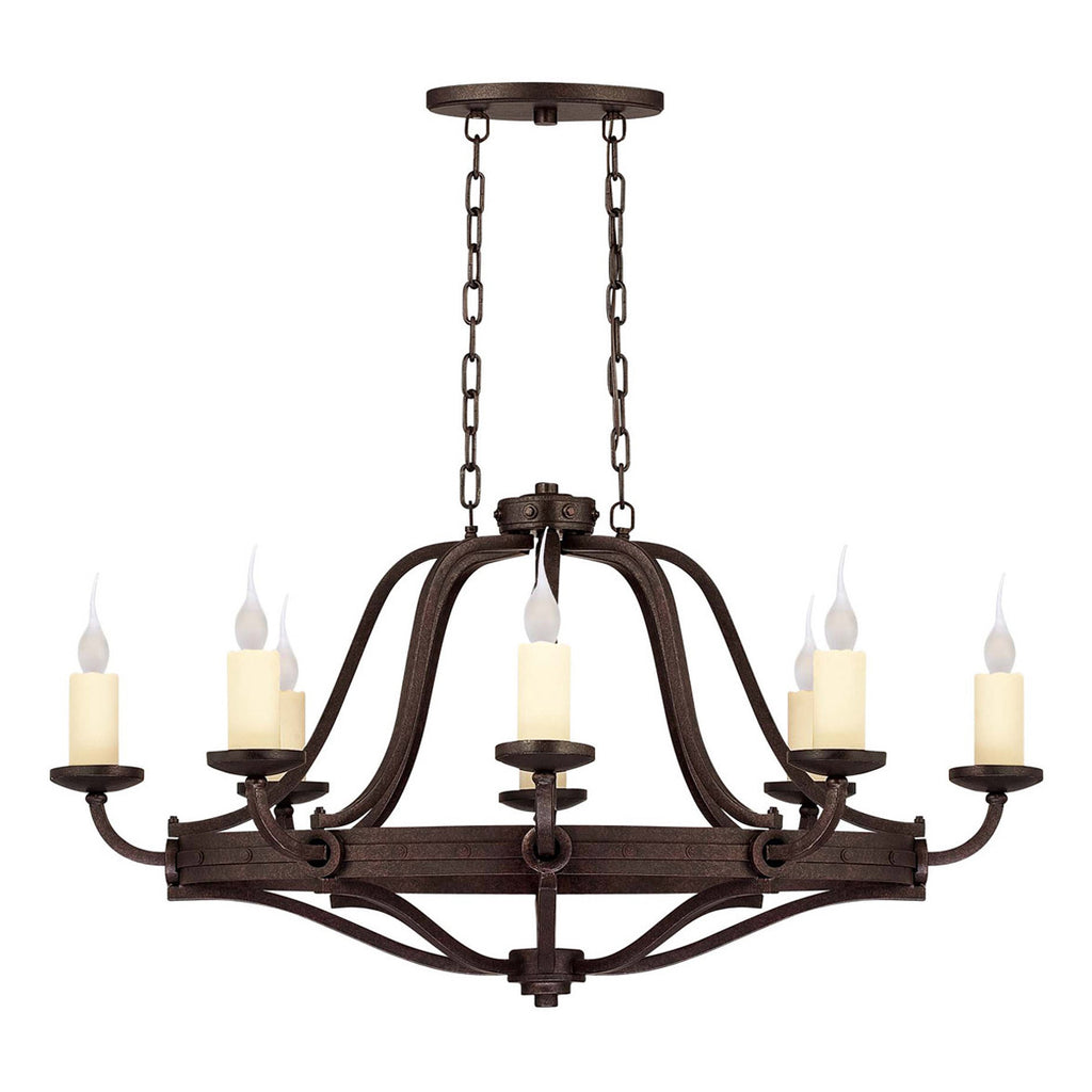 Elba 8-Light Oval Chandelier