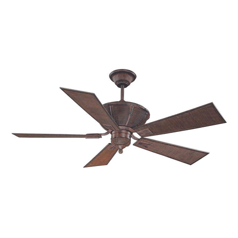 The Danville Dark Bamboo Ceiling Fan