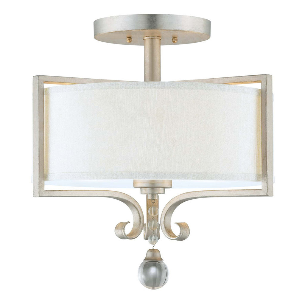 Rosendal 2-Light Semi-Flush