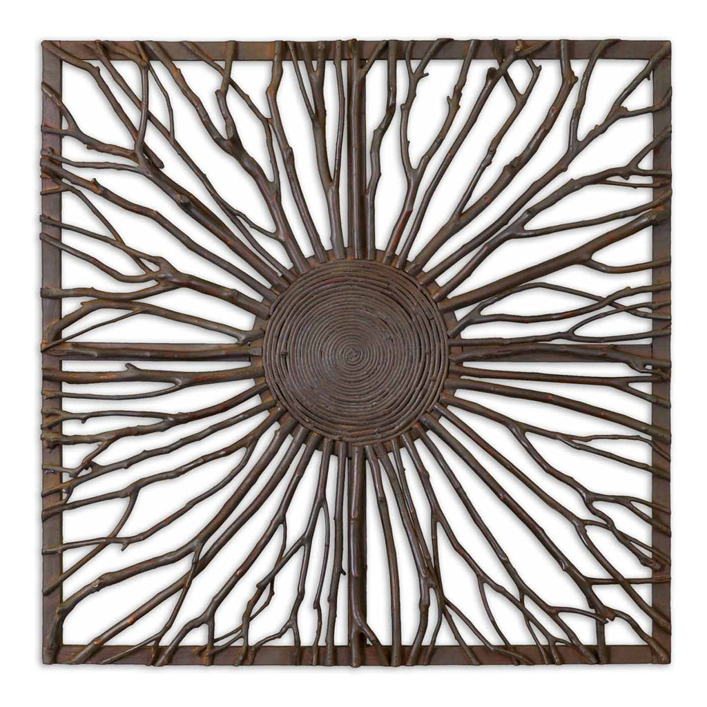 Josiah Square Wooden Wall Art