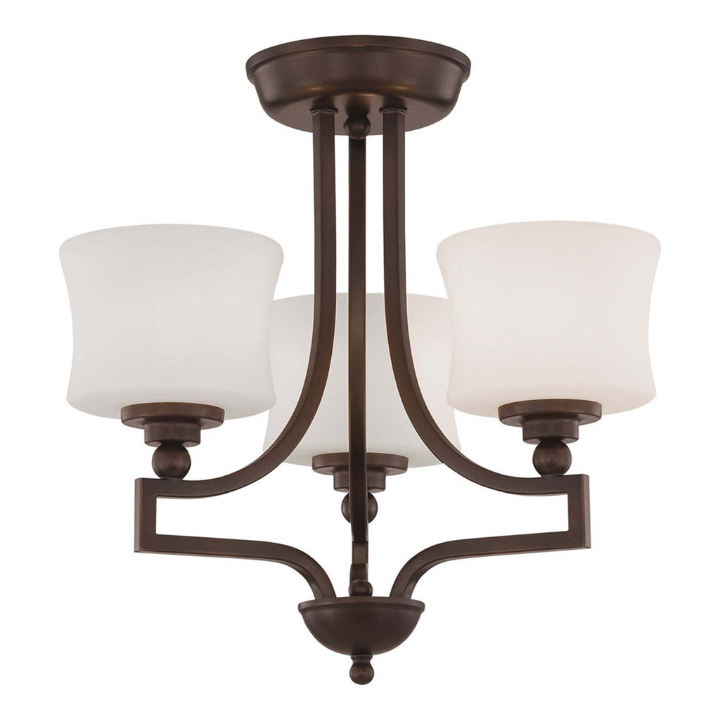 Terrell 3-Light Semi Flush