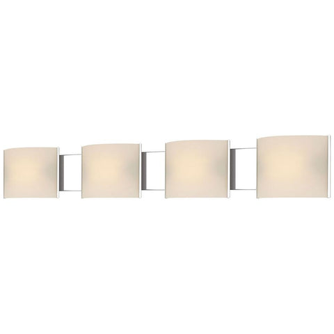 Pannelli 4-Light Hand-Moulded Glass Vanity