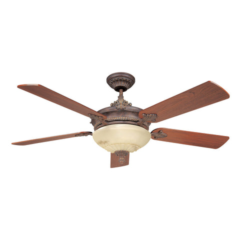 The Bristol Autumn Gold Ceiling Fan