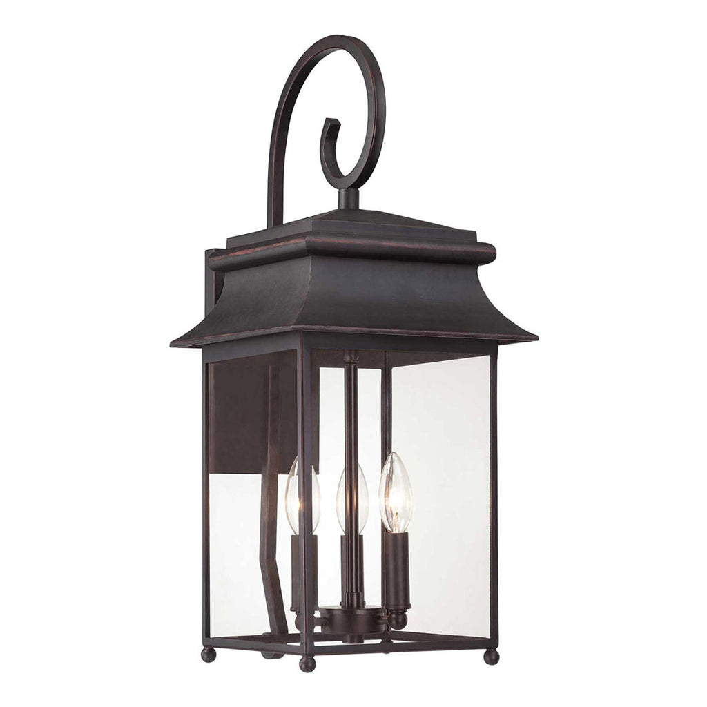 Durham 3-Light Outdoor Wall Sconce