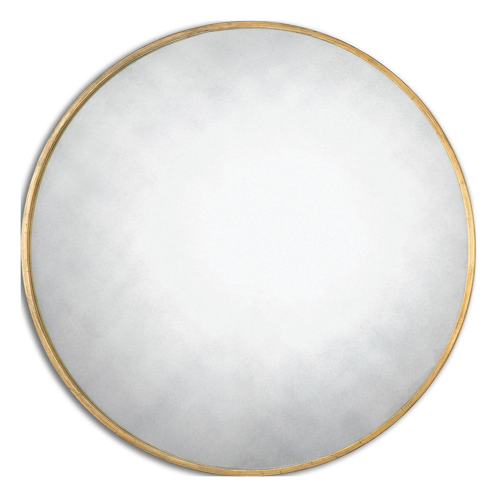 Junius Round Gold Mirror