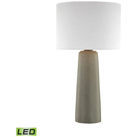 Eilat Outdoor LED Table Lamp in Concrete