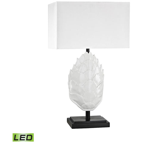 Los Roques Outdoor LED Table Lamp in Grey