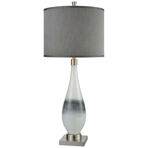 Vapor Table Lamp in Brushed Nickel