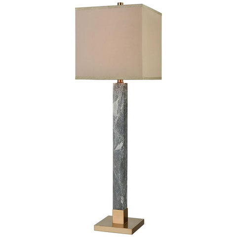 The Guvner Table Lamp in Cafe Bronze