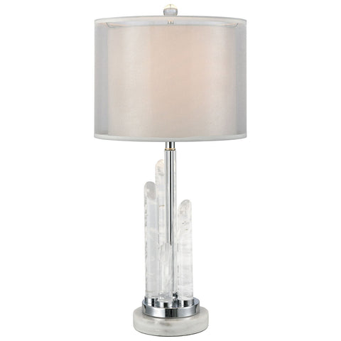 Frostpoint Table Lamp in Rock Crystal