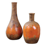 Kadam Ceramic Vases, Set of 2