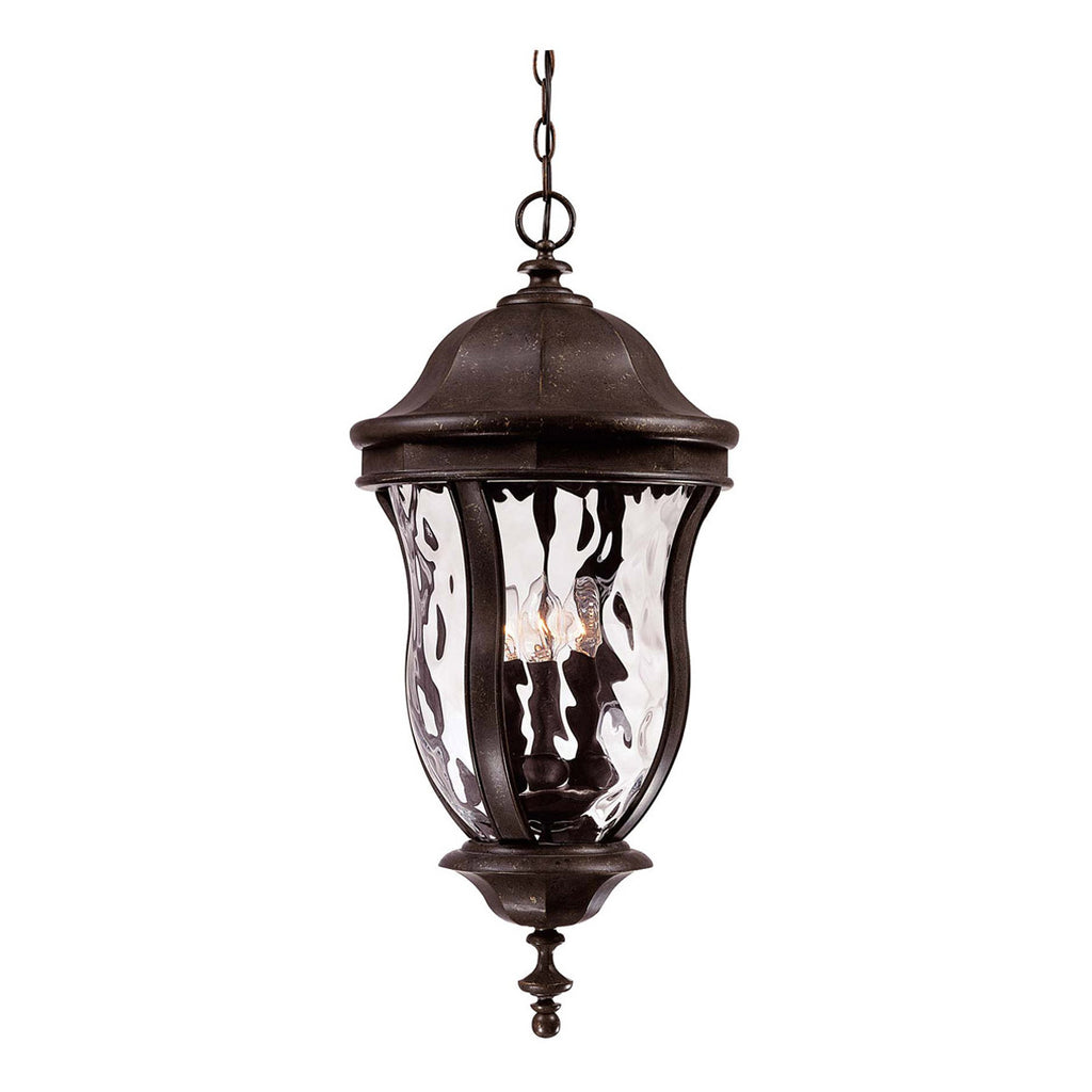 Monticello Walnut Patina Hanging Lantern