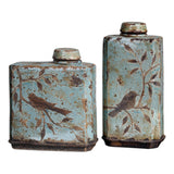 Freya Light Sky Blue Containers, Set of 2