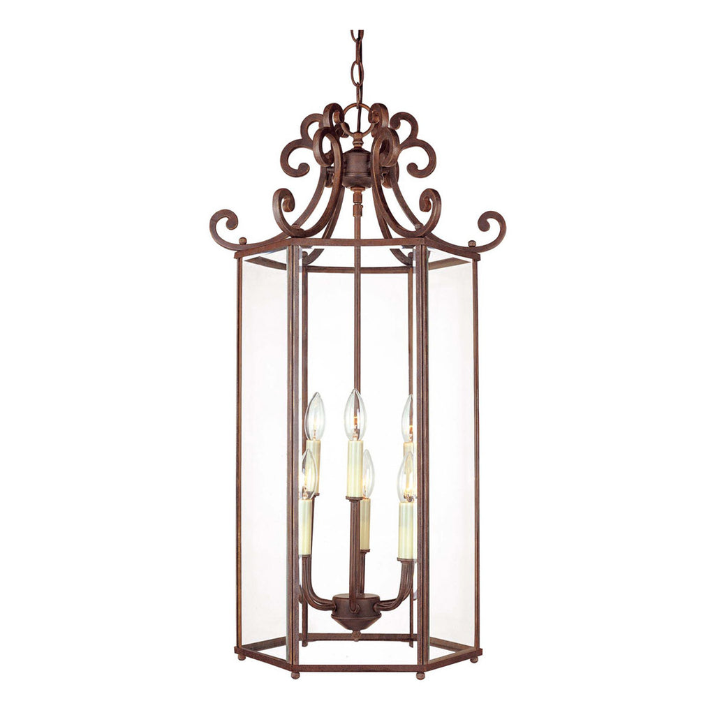 Liberty 2-Light Foyer Pendant