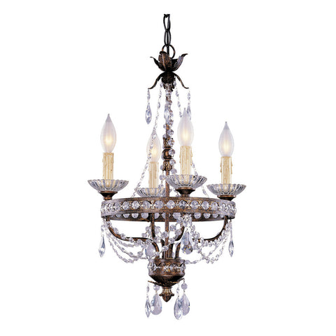 4-Light Mini Chandelier