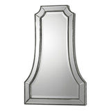 Cattaneo Silver Beaded Mirror