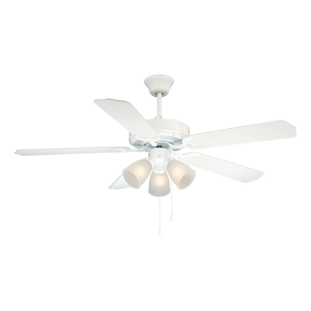 First Value White Ceiling Fan