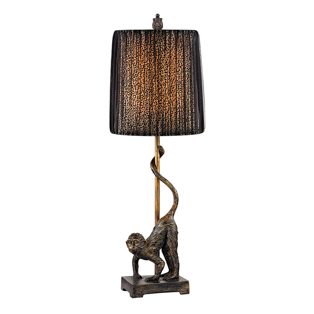 Aston 1-Light Table Lamp in Bissau Bronze
