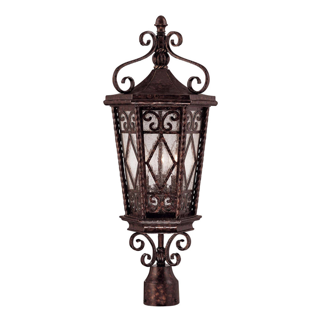 Felicity 3-Light Post Lantern