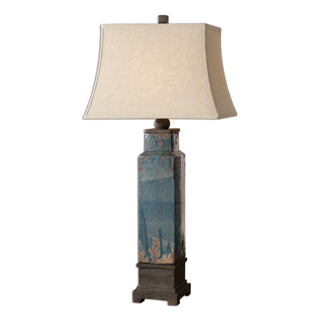 Soprana Blue Table Lamp