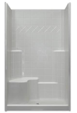 4836 Low Threshold Mobility Shower - Canadian Walk-in Tubs