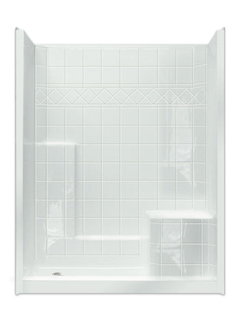 6032 Low Threshold Mobility Shower - Canadian Walk-in Tubs