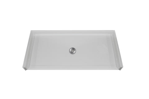 6033 Barrier Free Shower Pan - Canadian Walk-in Tubs