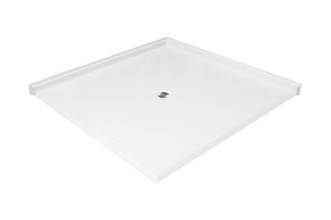6060 Side Entry Barrier Free Shower Pan - Canadian Walk-in Tubs