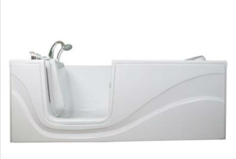 Aquam 6030 Lay Down Walk In Bathtub - Canadian Walk-in Tubs