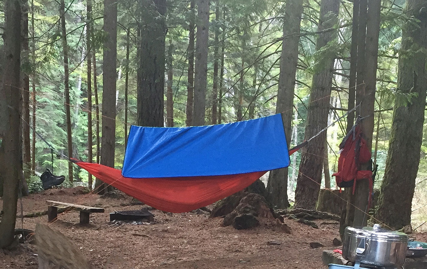 Tips for Hammock Hiking, Backpacking and Camping - Use a Tarp