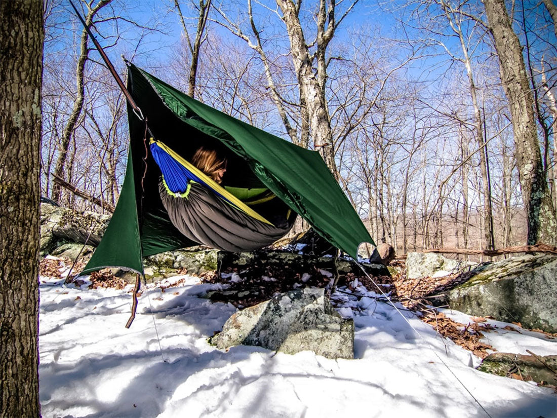 Tips for Hammock Hiking, Backpacking and Camping - Add an Under Quilt