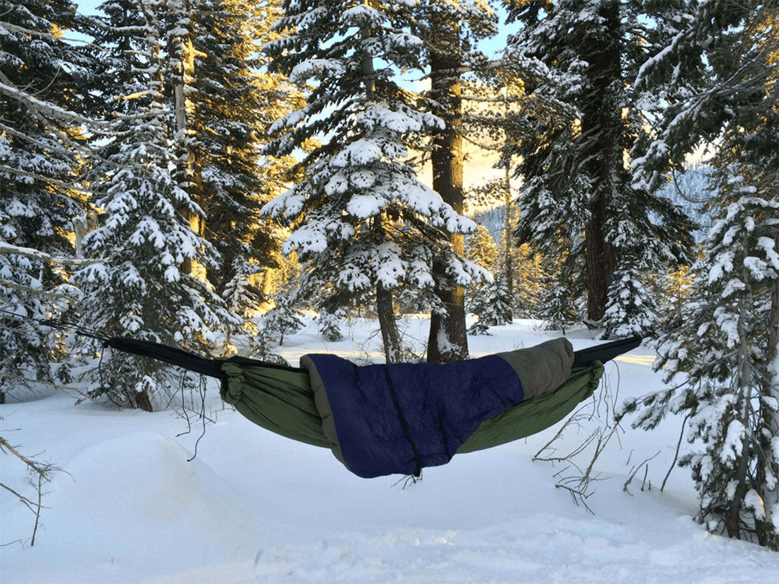 Tips for Hammock Hiking, Backpacking and Camping - An Extra Warm Sleeping Bag