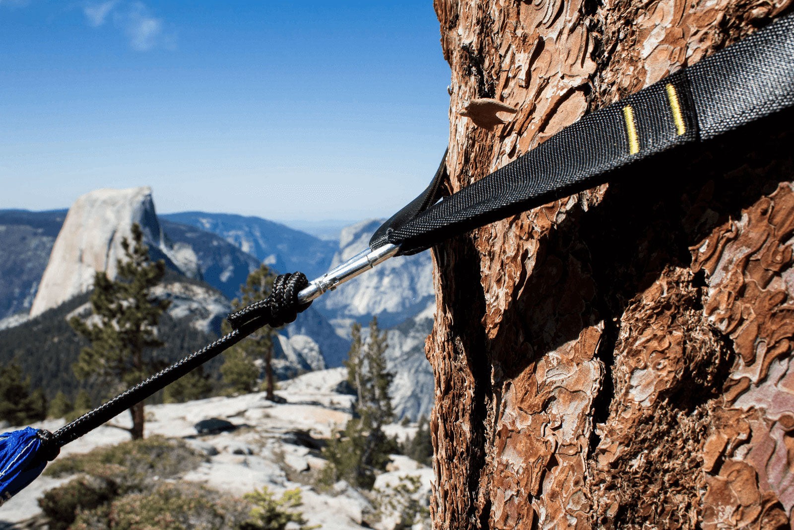 Tips for Hammock Hiking, Backpacking and Camping - Use Tree Straps to Hang Your Hammock